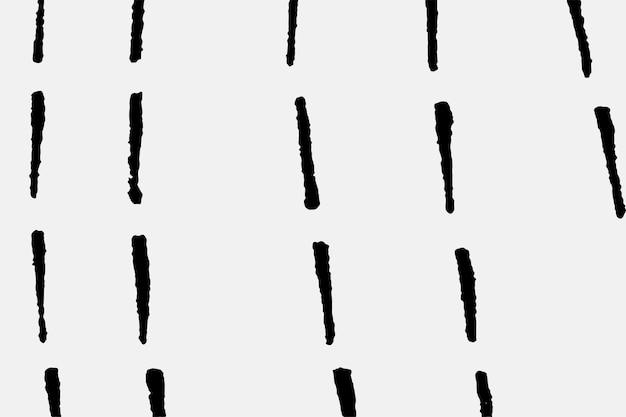 Vintage zwarte lijnen vector patroon achtergrond, remix van kunstwerken van samuel jessurun de mesquita