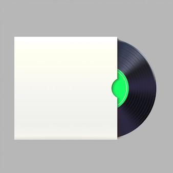 Vinylplaat in verpakking