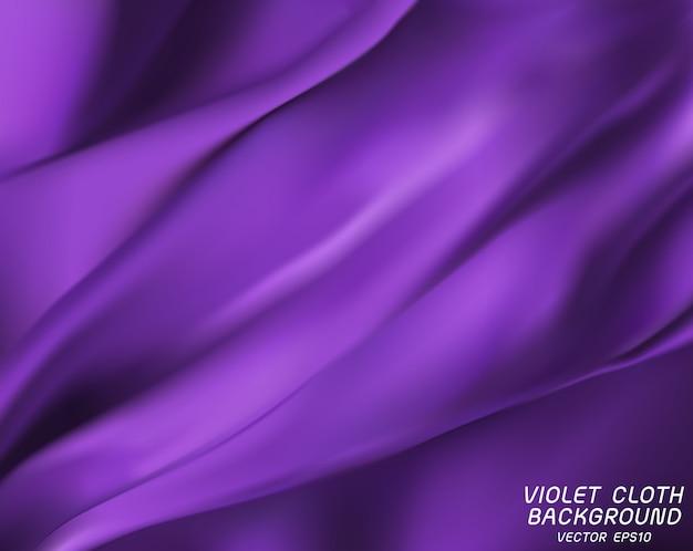 Violet doek achtergrond