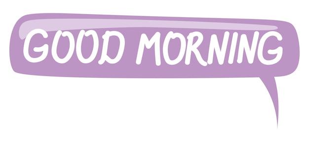 Violet papier bubbels voor spraak op een witte achtergrond abstract ontwerp vectorillustratie