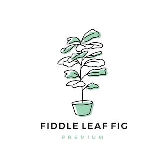 Vioolblad fig logo