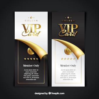 Vip member card collectie