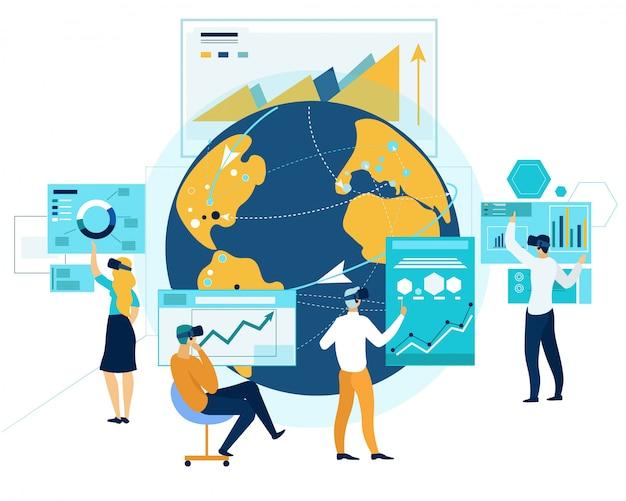 Virtual business meet