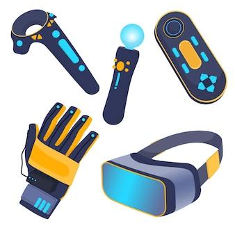 Virtual reality-apparatuur