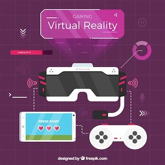 Virtual reality elementen pakket