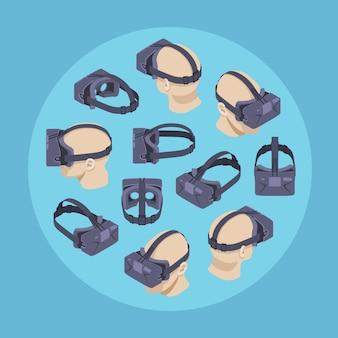 Virtual reality-headset