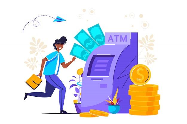 Virtuele bedrijfsassistent. geld