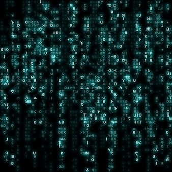 Virtuele werkelijkheid, abstracte blauwe technologieachtergrond