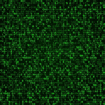 Virtuele werkelijkheid, abstracte groene technologieachtergrond
