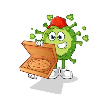 Virus pizzabezorger.