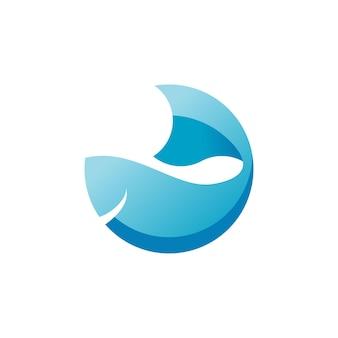 Vis logo ontwerp inspiratie