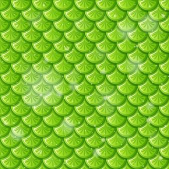 Vis schaal naadloze patroon achtergrond
