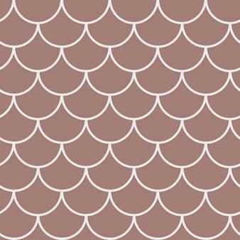 Vis schaal naadloze patroon. reptiel, drakenhuidtextuur. bewerkbare achtergrond voor uw stof, textielontwerp, inpakpapier, badkleding of behang. blauwe zeemeerminstaart met vissenschubben onder water.