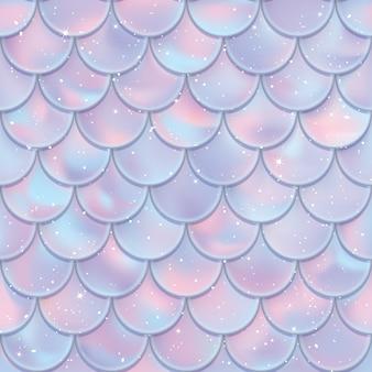 Vis schalen naadloze patroon