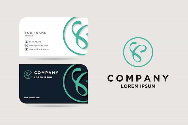 Visitekaartje en logo