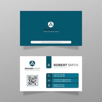 Visitekaartje ontwerp bedrijf en zakelijke vector modern