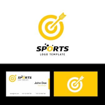 Visitekaartje van sporten