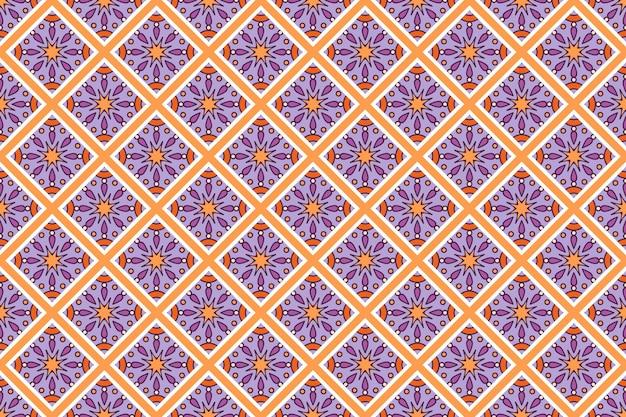 Visitekaartje. vintage decoratieve elementen. sier bloemenvisitekaartjes, oosters patroon, vectorillustratie