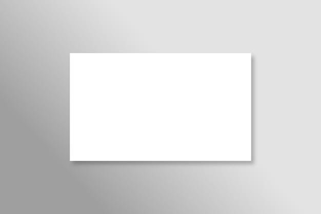 Visitekaartjes mockup