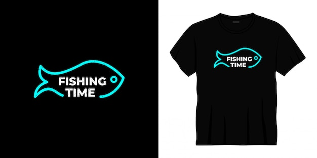 Vistijd typografie t-shirt design