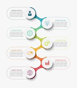 Visualisatie van bedrijfsgegevens