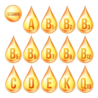 Vitamine pictogrammen
