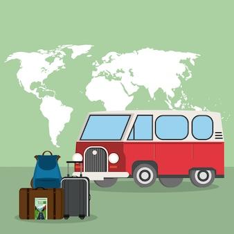 Vitnage busje en reizen