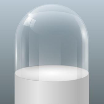 Vitrine van glas