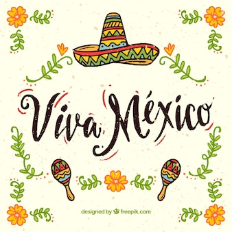 Viva mexico achtergrond