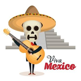 Viva mexico posterpictogram