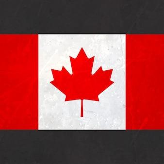 Vlag van canada met textuur
