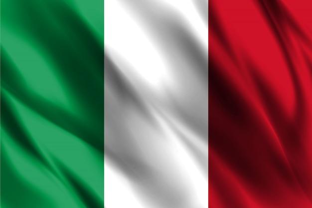 Vlag van de italiaanse republiek
