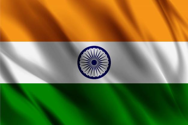Vlag van de republiek india