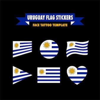 Vlag van de uruguay-vlag