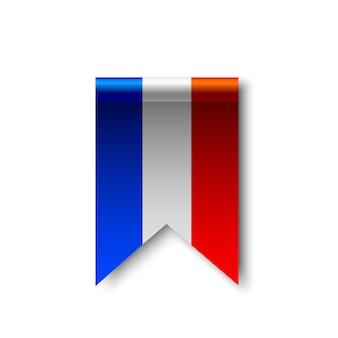 Vlag van frankrijk.