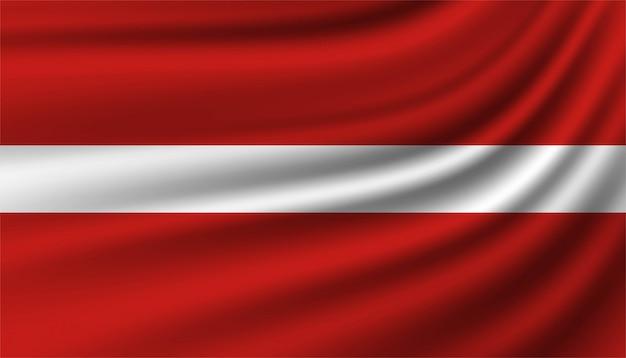 Vlag van letland achtergrond sjabloon.