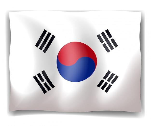 Vlag van zuid-korea