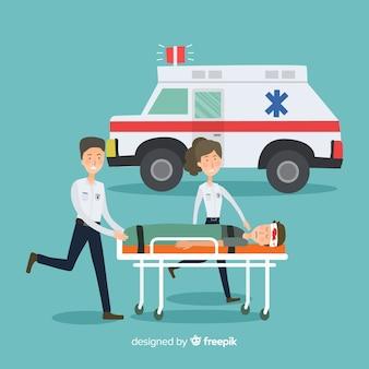 Vlak ambulanceteam