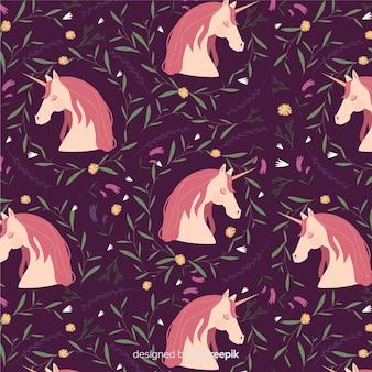 Vlak eenhoornpatroon