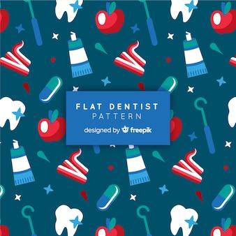 Vlak tandartspatroon