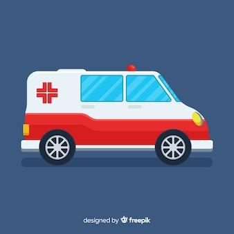 Vlakke ambulance