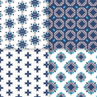 Vlakke sier arabische patrooninzameling