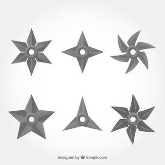 Vlakke sterrencollectie