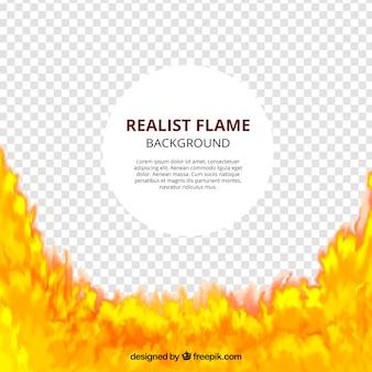 Vlam achtergrond sjabloon