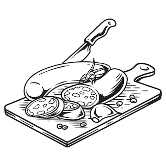 Vlees en ingrediënten
