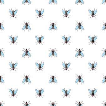 Vlieg naadloos patroon
