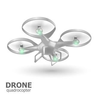 Vliegende drone quadrocopter