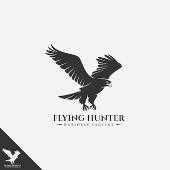 Vliegende eagle-logo