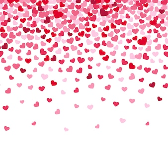 Vliegende hart confetti