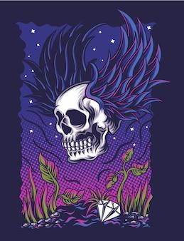 Vliegende schedel